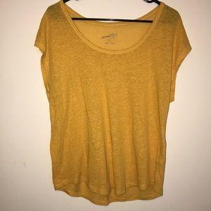 Tops - Yellow Thread Shirt